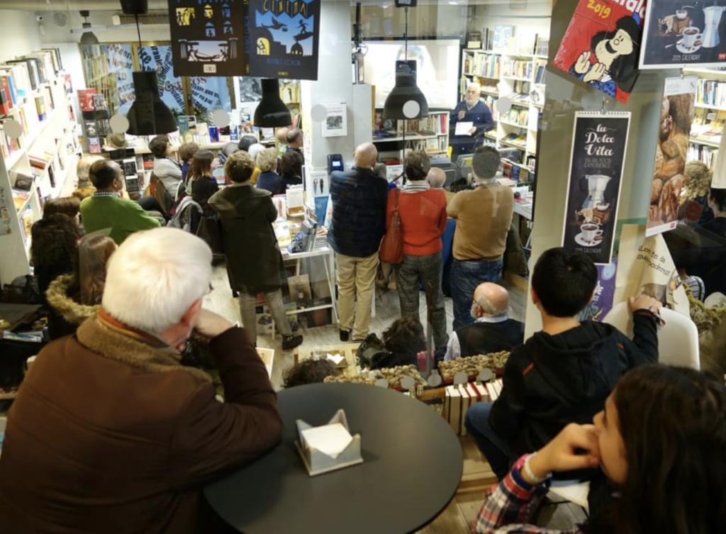 Librería Intempestivos Segovia charla