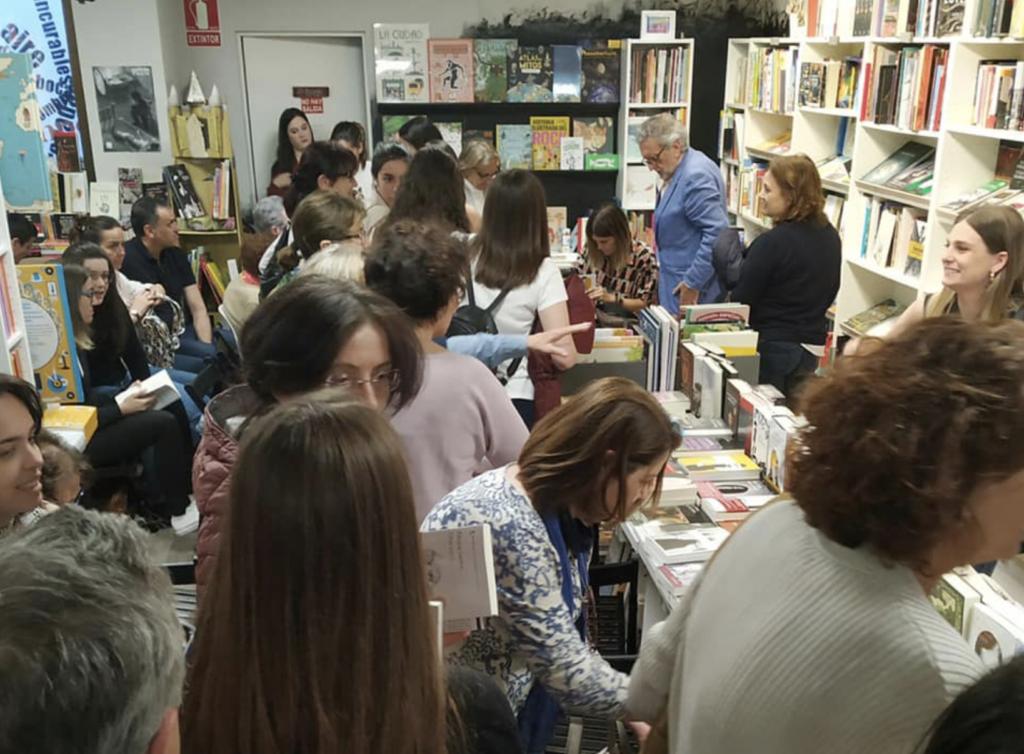Librería Intempestivos Segovia presentación